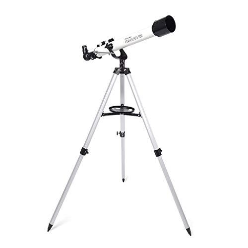 RUI - K25 Telescopio astronómico, 700 / 60mm Telescopios monoculares Profesionales con Reflector 175X con trípode 2 oculares y buscador Alcance del teléfono for Sky Star Gazing