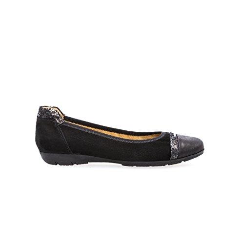 Gabor Shoes Gabor Casual, Ballerines Femme Noir