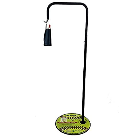 Backspin Tee Standard Model With Baseball Cone-A Revolutionary Baseball Tee Designed to Take Batting Practice to a New Level-Easy To Use-Baseball Training Aid by Backspin Tee Standard Model Baseball