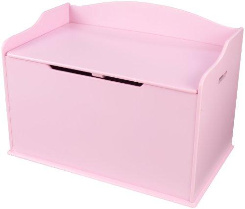 truhe Austin – Rosa (Personalisierte Spielzeug-truhen)