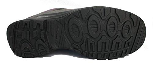 Lowa Femmes Chaussures De Randonnée Anthracite/VIOLET
