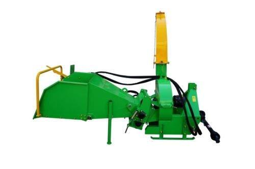 BX-72RS hydraulischer Holzschredder Schredder Holzhäcksler Häcksler für Traktor ab 40 PS - inklusive Zapfwelle -