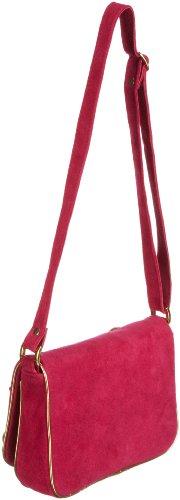 Antik Batik BABA1BAG, Damen Umhängetaschen, Pink (FUSHIA), 23x18x5 cm (B x H x T) Pink (FUSHIA)