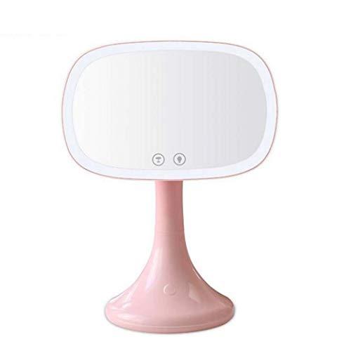 Bildschirm Make-up Spiegel mit 36 LED-Leuchten, beleuchtete Eitelkeit Dressing Tischspiegel mit Touch dimmbare Speicherfunktion und 10X Vergrößerung Spot-Spiegel -