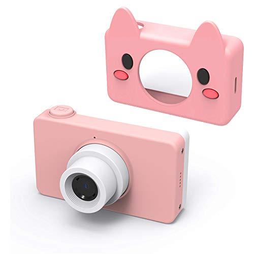 MBEN Kinder-Digitalkamera, 2.0 HD-Farbbildschirm, 8MP Video-Digitalkamera-Kamera Ultraleicht tragbare Geburtstagsgeschenk für Kinder, USB OTG-Handyübertragung,Pink