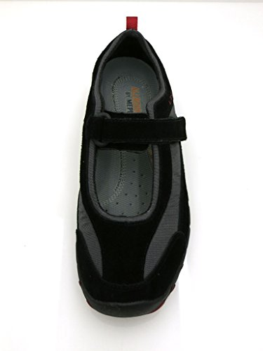 Allrounder by Mephisto Mambo Dream Maiusc Karine Donneballerinas Pelle Outdoor Shift - nero