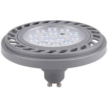 AR111//GU10 LED Spot//Strahler 24° 12W 230V 850Lm dimmbar warm-weiß 3000K ES111