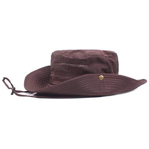 Kinder Kostüm Jones Davy - KFEK Outdoor Hut Sommer Fischer Hut Visier UV-Schutz Herren Sonnenschutz Bergsteigen Angeln Hut A1