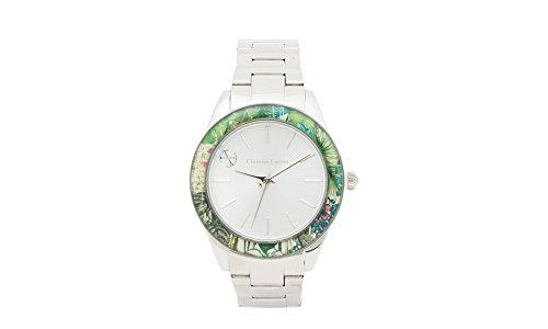 Preisvergleich Produktbild Ausverkauf !!!! Christian Lacroix Watch 8009502 Steel Strap Analog Dial-Lady Watch innovative ästhetische Design-fashion Quartz Watch für Männer/Frauen-Silber