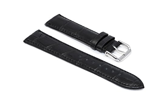 watchassassin-black-leather-alligator-grain-watch-strap-20mm-including-buckle
