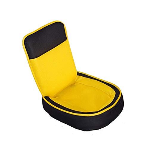 ZzXJD Boden Falten Gaming Sofa Stuhl Liege klappbar verstellbare schlafsofa Couch Liege (Color : Beige)
