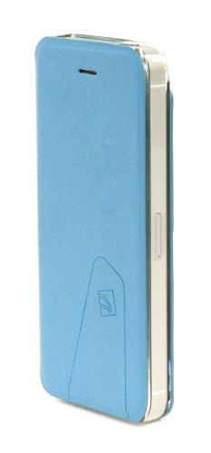 Tucano Libretto Housse en cuir pour iPhone 5 Violet Bleu