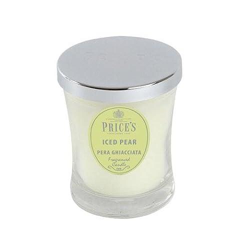 Prices Candles M Pear glacé Signature Pot, blanc