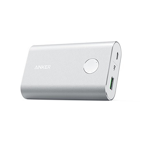 Anker Powercore+ 1005010050mAh Silber tragbarer Akku