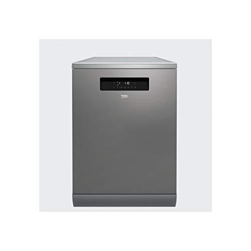 Beko DFN38530X lavavajilla Independiente 15 cubiertos A+++ - Lavavajillas (Independiente, Acero inoxidable, Tamaño completo (60 cm), Tocar, LCD, Cajón)