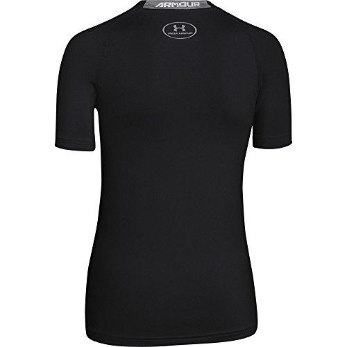 Under Armour Jungen Fitness - Sweatshirt AF Storm Big Logo Hoody Black-001