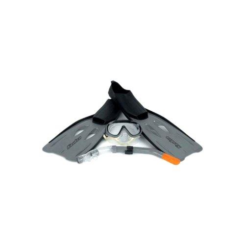 osprey-fins-flippers-mask-snorkel-diving-swimming-snorkelling-set-grey-5-6