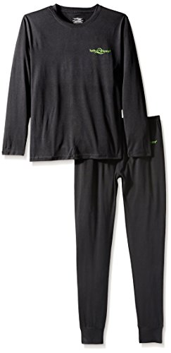 lucky-bums-kids-tecnica-thermals-base-layer-set-top-y-pantalones-negro-xs