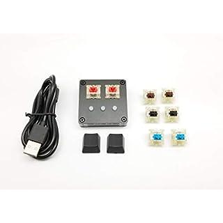 NONO Pro-Version Keyboard for OSU (4 Pairs Cherry MX DIY Switch) Rhythm Game Keypad