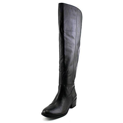 INC International Concepts Beverley Wide Calf Femmes Cuir Botte Black
