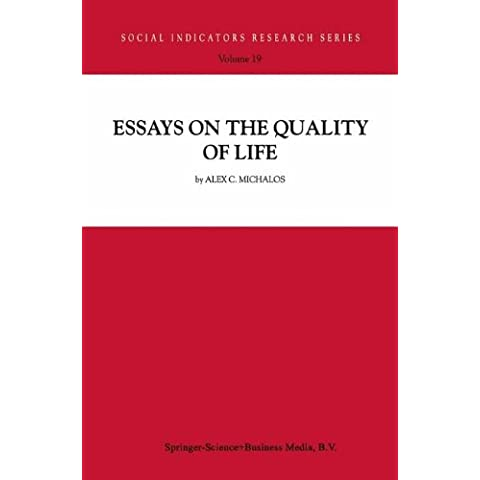 Essays on the Quality of Life: Volume