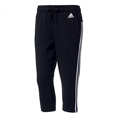 adidas – Pantaloni a 3/4 da Donna Essentials, 3 Strisce