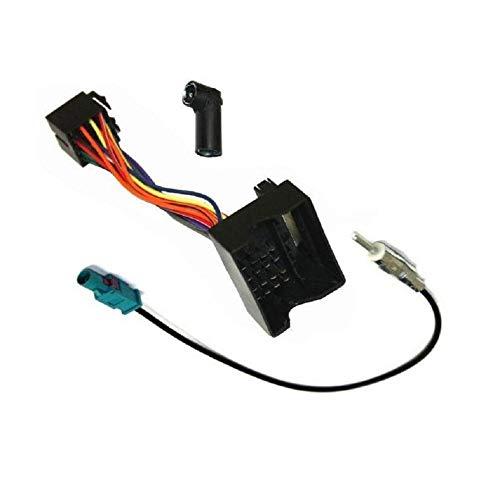 ADNAuto 12572 Kit Adaptateurs Iso Autoradio et Antenne Bmw/Landrover Ap01 Kitcab20