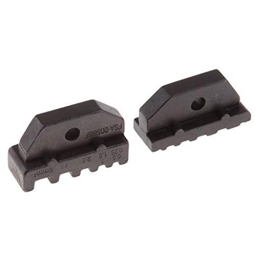 Homyl Einsatzbacken für Crimpzange Kabelschuhzange, 19 Formen zum auswählen - A2056GF