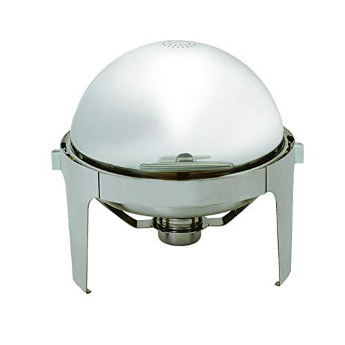 Update International (EC-14N) Chafer mit Rollkragen, 16,5 l Quart Chafing Dish