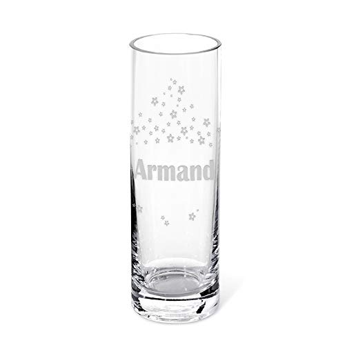 CADEAUX.COM Vase gravé Personnalisable - Prénom