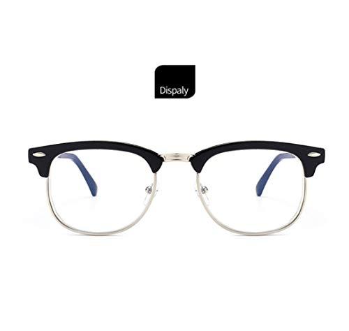 WYJW Explosive Modelle Myopie Brille Retro Myopie Platten Großhandel Brillengestell 100 Grad -500 Grad