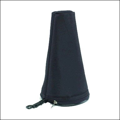 Ortola 0667--001 - Funda sordina trompa y trombon, color negro