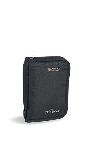 Tatonka, Custodia porta documenti Travel Zip M RFID B 2958, Nero (Black), 17 cm