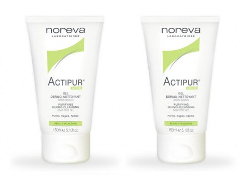 Noreva Actipur Hygiene Dermo-Cleanser for Problem Skin 150 ml (2 Tubes) by LED NOREVA
