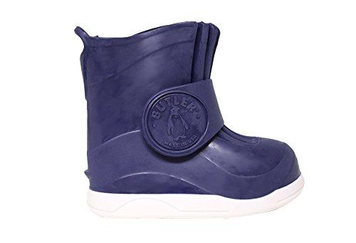 Butler–La Gumboots des Couvre-chaussures de protection qui convient aux Enfant de plus de chaussures Bleu Marine