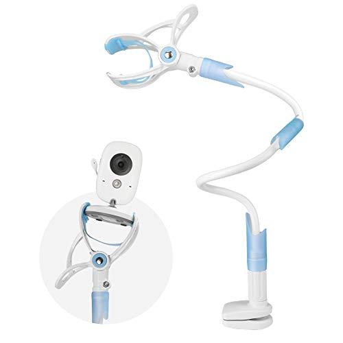 COOAU Soporte Universal para Camera de Bebé con Correa, Ángulo de Rotación de 360 Grados, Soporte para Monitor Flexible de Aleación de Aluminio