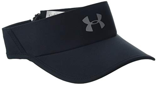 Under Armour Men's Shadow Visor 4.0 Visera, Hombre, Negro Black/Reflective 001, Talla única