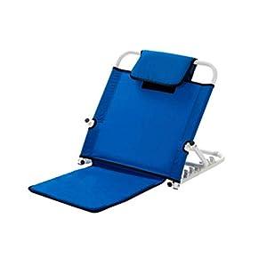 GLJY Faltbare Rückenlehnenhalterung, verstellbare Rückenlehnen-Liegestühle, sichere Pflege für ältere gelähmte Patienten