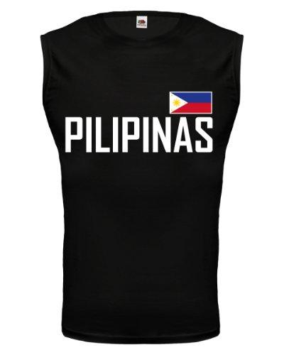 buXsbaum® Tank Top Philippinen Black-
