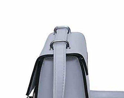 Art Und Weise Beiläufige Frauen Handtaschen Schulter Diagonale Paket Kleine Quadratische Tasche Black