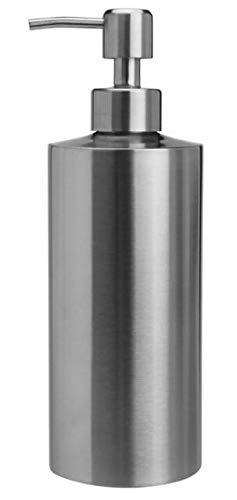 Bene K28-211 Seifenspender Duschgelspender Shampoospender Spülmittelspender, Edelstahl 18/8 (SUS304), Matt (550ml-SB63)