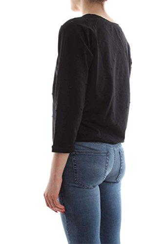 MET EATAC J1433 901 G732 SWEAT-SHIRT Femme Nero