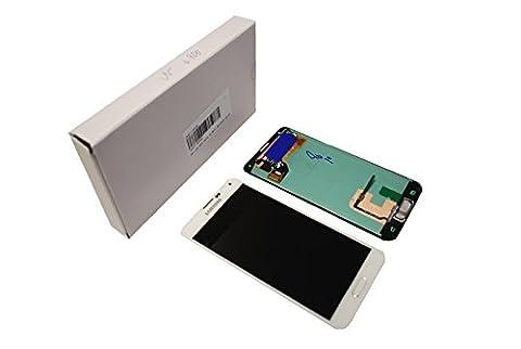 Original Samsung G900F Galaxy S5LCD écran tactile en verre pour White/Blanc