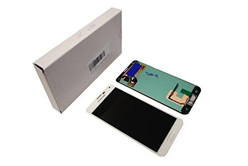 Display Full LCD Komplettset Touchscreen Glas Scheibe Ersatzteil Zubehör Reparatur Weiß für Samsung Galaxy S5 G900 / S5 Plus G901 F Modellnummer: GH97-15734A und GH97-15959A (Galaxy Samsung Für Weiße Lcd S5)