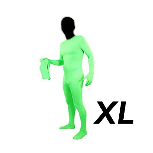 Cablematic Chromakey grünen Anzug zweiteilige XL-Größe