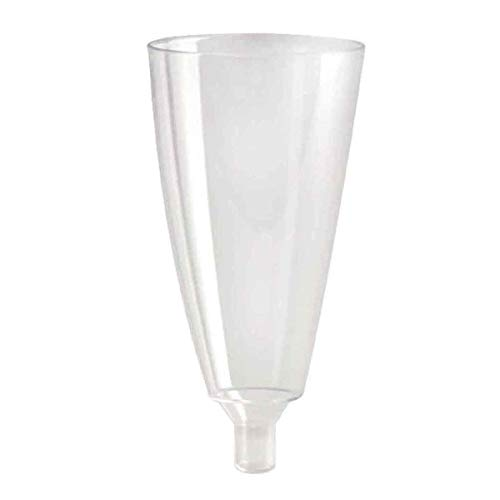 Zoom IMG-3 pz 50 calice flute trasparente
