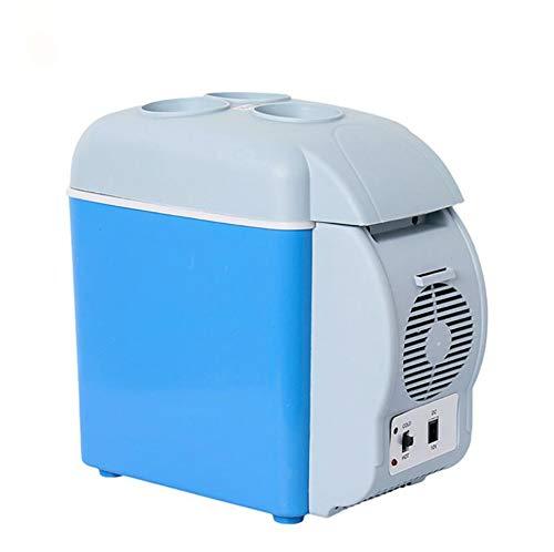 FEN&G Glacière électrique Portable équipée,Capacité de 7,5 litres | Double Refroidissement thermoélectrique Personnel réchauffant Digital insérant Le réfrigérateur dans la Voiture, Le Voyage,