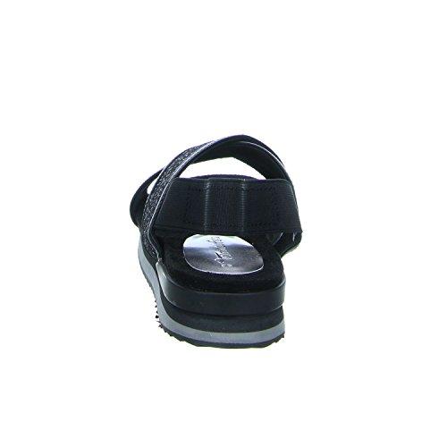 Tamaris1-1-28703-38/092 - Scarpe con plateau Donna Nero