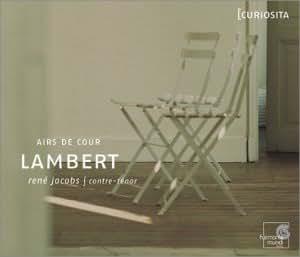 Lambert - Airs de Cour (Coll Curiosita)