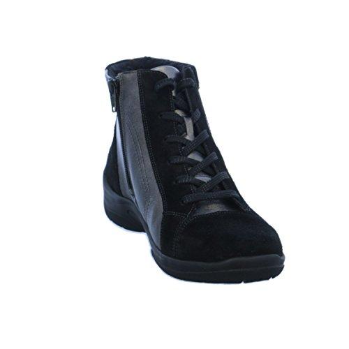 Waldläufer 312801-201-564, Bottes pour Femme Noir